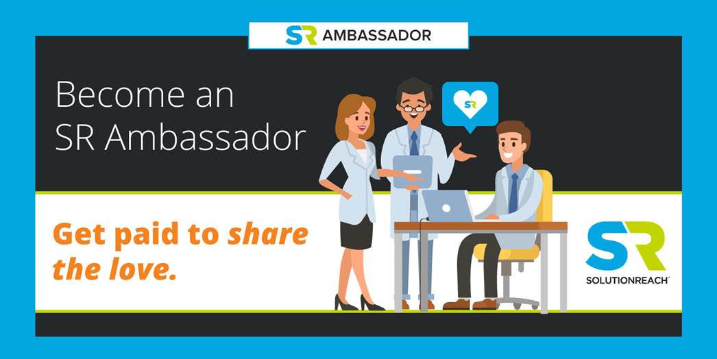 Solutionreach ambassador program